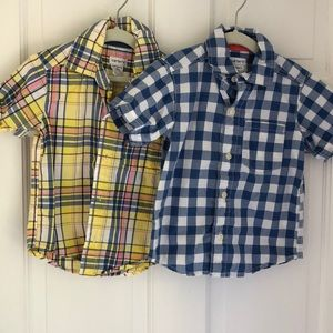 Boys Carters Shirts